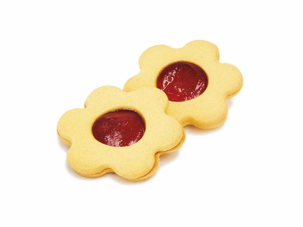 Biscotto fiore albicocca