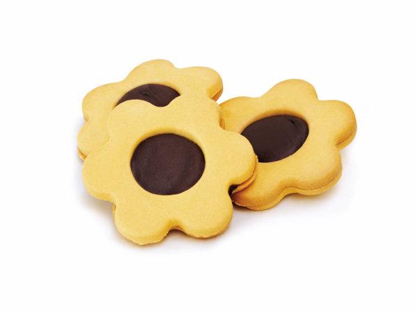 Biscotto fiore nocciola